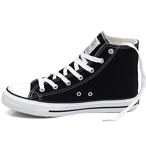 uomo scarpe alte da scarpe Scarpe alte uomo scarpe scarpe da uomo marea tela da scarpe da da da scarpe uomo Nero in WFL uomo TO8BZqq