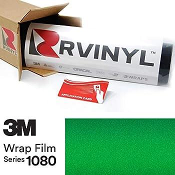 3M 1080 G336 Gloss Green Envy 5ft x 1ft W/Application Card Vinyl Vehicle Car Wrap Film Sheet Roll
