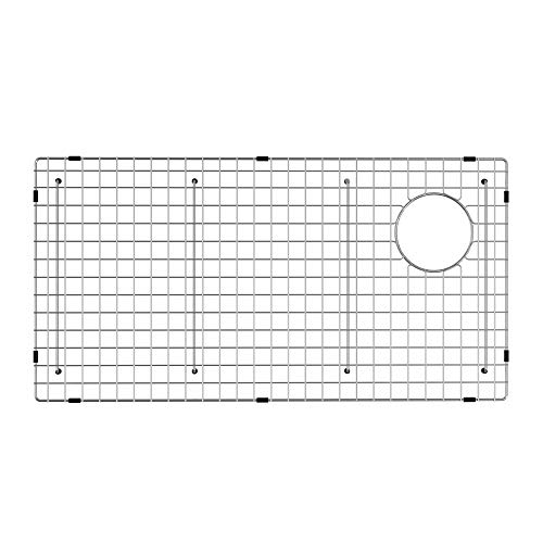 KRAUS KBG-GR2514 Bellucci Series Stainless Steel Kitchen Sink Bottom Grid with Soft Rubber Bumpers for 30-inch Kitchen Sink