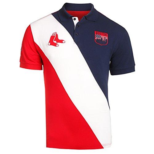 Boston Red Sox MLB Baseball Men's City Crest Polo Shirt