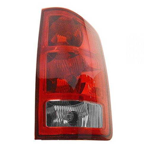 3500 Rear Right Brake (Taillight Taillamp Rear Brake Light Passenger Side Right RH for Dodge Ram Truck)