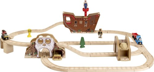 Learning Curve Thomas and Friends Wooden Railway - Pirates Cove Set