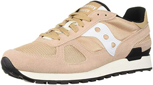 - Saucony Originals Men's Shadow Original Running Shoe, tan/White, 14 Medium US