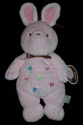Carters Child of Mine Pink Musical Crib Plush Bunny