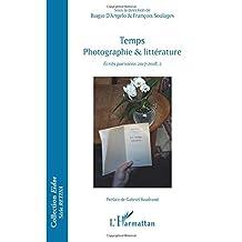 Temps photographie & littérature