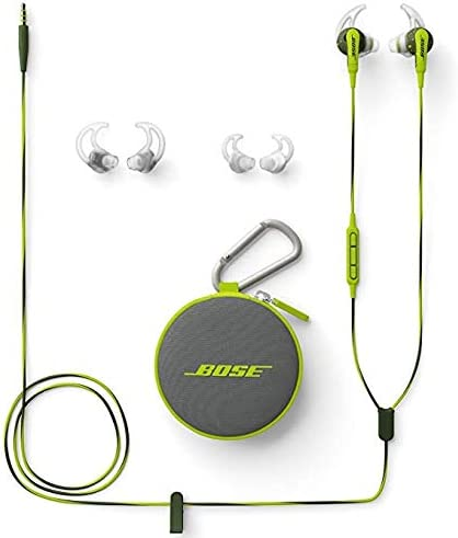 Bose SoundSport in-Ear Headphones for Apple Devices – Wired Energy Green