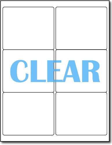 - Crystal Clear Shipping Labels for LASER Printers - 4
