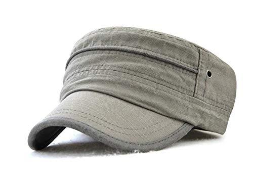 Plano Gris Beisbol de Sol Tejado Sombreros Gorra 03 Militar Sombrero Ajustable NO 22 ZqnxwpAad