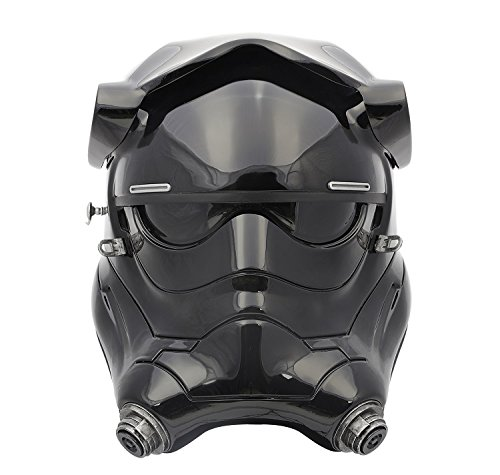 ANOVOS Star Wars The Force Awakens First Order TIE Fighter Pilot Helmet Premier Line Prop Replica Helmet Completed Ready to Wear (Tie Fighter Helmet Costume)