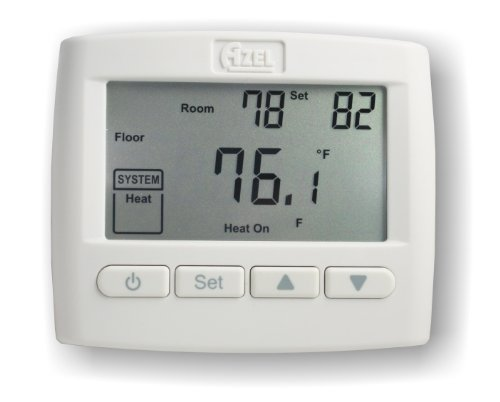 Non Programmable Floor (Azel D-508F: NON-PROGRAMMABLE DIGITAL SLAB SENSING THERMOSTAT FOR HYDRONIC RADIANT FLOOR)