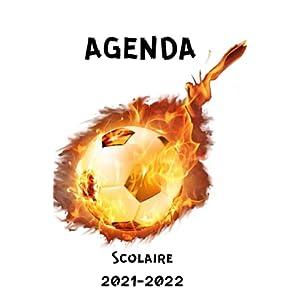 Agenda scolaire 2021 2022: Agenda journalier scolaire foot 2021 2022: Agenda foot 2021 2022| 275 Pages| Agenda pour… 11