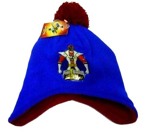 [Power Rangers SAMURAI Ear Flap / Cover Beanie Hat - Licensed Merchandise] (Power Ranger Samurai Costumes)