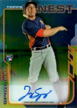 (2014 Topps Finest #RA-GS George Springer Certified Autograph Baseball Rookie)