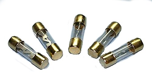 5 New AGU Fuses Reliable Gold Plated Pack of 20 Amp 20A IMC Audio Brand New ()