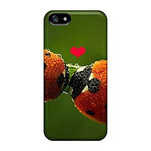 New Premium Maria N Young Ladybug Love Skin Case Cover Excellent Fitted For Iphone 5/5s