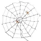 Halloween Purple Lighted Cobweb Spiderweb Indoor