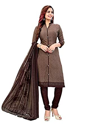 Rajnandini Women Crepe Un-Stitched Salwar Suit Material
