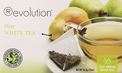 Revolution Tea Pear White Tea, 16 Count