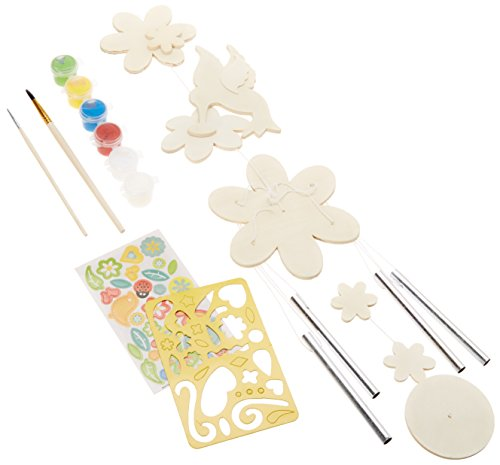MasterPieces Works of Ahhh Hummingbird Windchime Wood Paint Kit