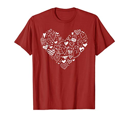 (Cute Heart Doodles Shirt)