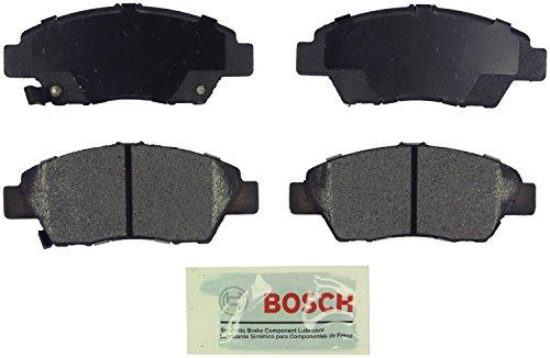 Bosch BE1394 Blue Disc Brake Pad Set for Honda: 2011-15 CR-Z, 2009-14 Fit - FRONT