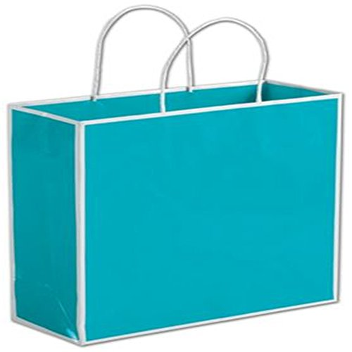 China Beach Blue Shoppers, 10 x 4 x 10'' by Deluxe Corporation
