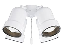 Emerson Ceiling Fans CFMLK4WW 4-Light Bullet Light Fixture with Adjustable Arms
