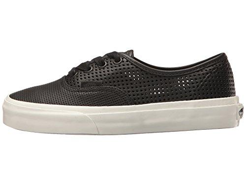 Vans Unisex Authentic Dx (Square Perf) Black Skate Shoe 8.5 Men US / 10 Women US