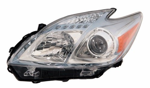 Go-Parts OE Replacement for 2010-2011 Toyota Prius Front Headlight Headlamp Assembly Front Housing/Lens / Cover - Left (Driver) Side 81170-47211 TO2518122 for Toyota Prius