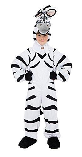 Plush Zebra Mascot Costumes - Bristol Novelty CC607 Zebra Costume, Black,