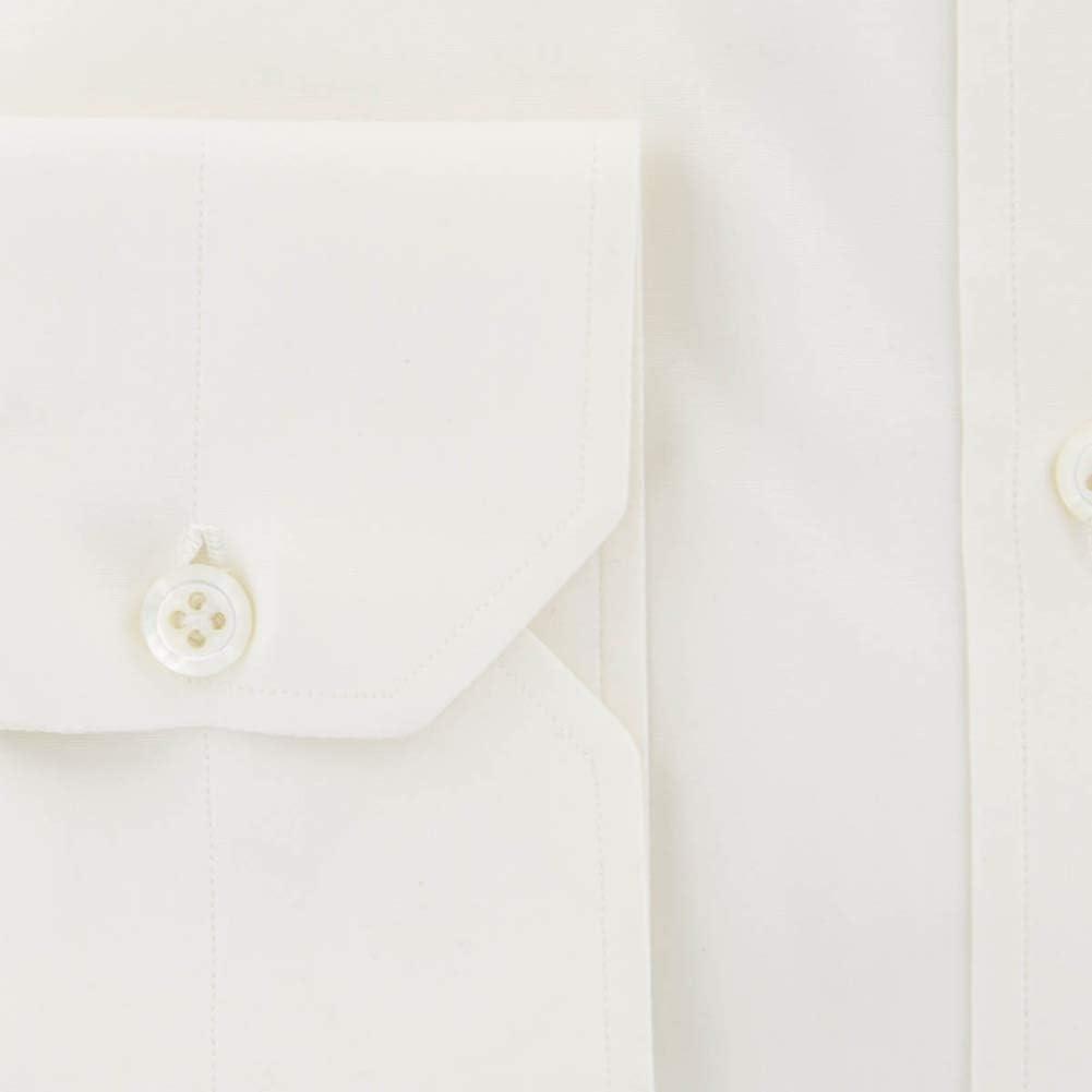 GB4078 Extra Slim 15.75//40 - $375 Luigi Borrelli Orange Striped Shirt
