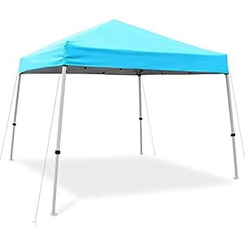amazonbasics pop up canopy tent 10 39 x 10 39 blue garden outdoor. Black Bedroom Furniture Sets. Home Design Ideas