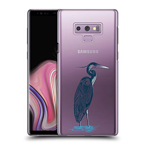 Blue Case Heron - Official Rachel Caldwell Blue Heron Animals 4 Hard Back Case Compatible for Samsung Galaxy Note9 / Note 9