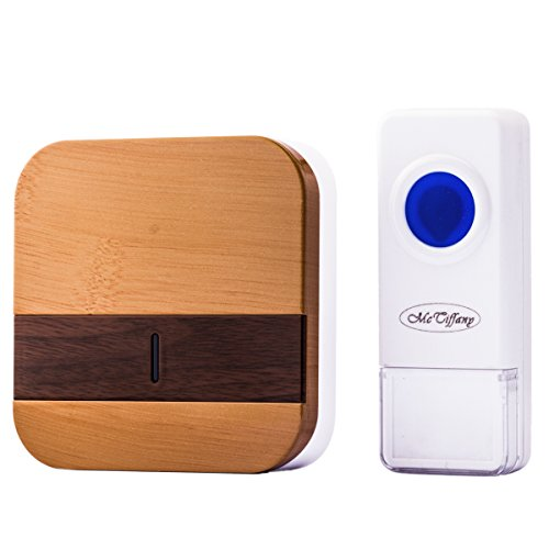 Wireless Doorbell Operating at over 500-feet Range with O...