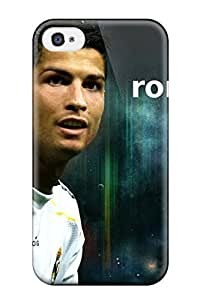 EOAKOeJ1689OPXfT Christine B Villegas Awesome Case Cover Compatible With Iphone 4/4s - Cristiano Ronaldo
