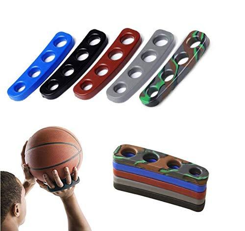 VPlus - Juego de 2 cerraduras de Baloncesto de Silicona para Entrenamiento de Baloncesto, Accesorios de Entrenamiento de Tres...