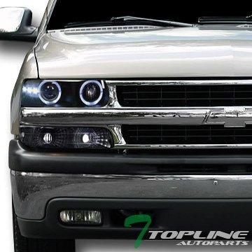 02 Chevrolet Silverado Halo Projector - 9