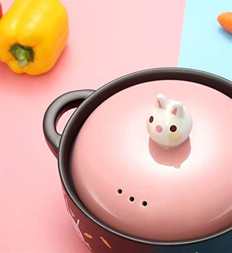 ZHNA Soupe en céramique Pot, Cuisinière à gaz et Open Flame Universal, Résistance à Haute température