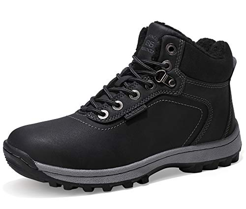 AX BOXING Snow Boots Mens Womens Winter Warm Ankle Boots Fully Fur Lined...