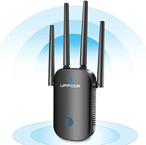 UPPOON 1200Mbps WiFi Extender Signal Booster...