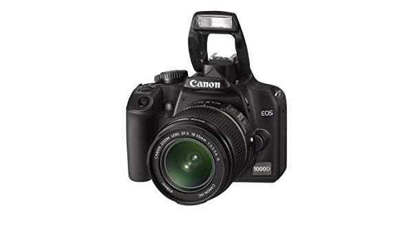 Canon EOS 1000D - Cámara Réflex Digital 10.1 MP (Objetivo EF 55 ...