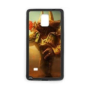 Samsung Galaxy Note 4 Cell Phone Case Black League of Legends Matador Alistar Ruciq