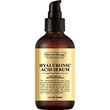 BEST Hyaluronic Acid Serum w/Vitamins A & C – 100% Pure Professional Strength - Anti Aging Face Serum Helps Improves Skin Texture & Balance – Replenish, Moisturize and Nourish Your Skin – 1 FL OZ