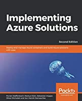 Implementing Azure Solutions, 2nd Edition Front Cover