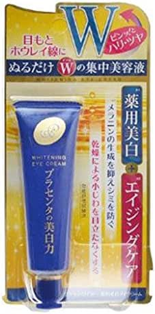 Meishoku Medicated Placenta Whitening Eye Cream 30g Japan