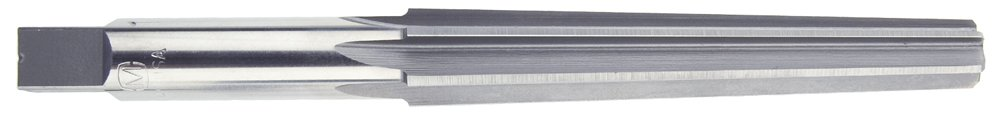 Morse Cutting Tools 21491 Taper Finishing Reamer, High-Speed Steel, Bright Finish, Straight Flute/Shank, 0MT Size