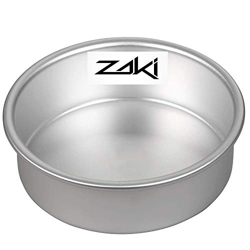 ZAKI Baking Round Cake Pan/Mould for Microwave Oven (Heavy Aluminum Gauge) – 6 Inch Price & Reviews