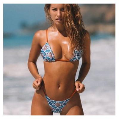 Maillot de bain bikini moderne et confortable moderne et confortable - triangle bikini maillot de bain fashion bracelet, stamp 8065