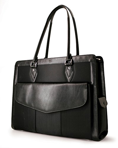 Mobile Edge Large Women's Geneva Microfiber Laptop Handbag, Tote Bag in ()