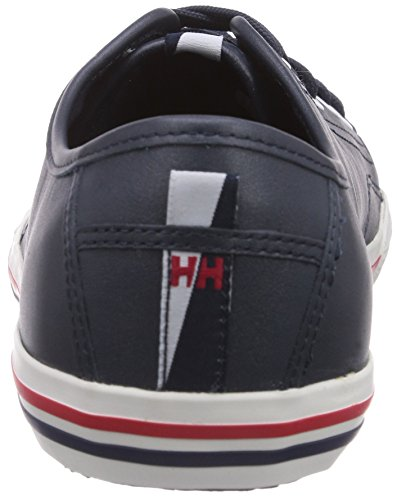 Fjord Hansen Navy White Sneaker Red Off Uomo Helly Leather X5xw7Xz